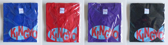 KINGYO T-shirt[S・M・L]